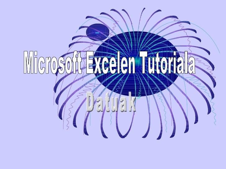  Microsoft Excel ireki