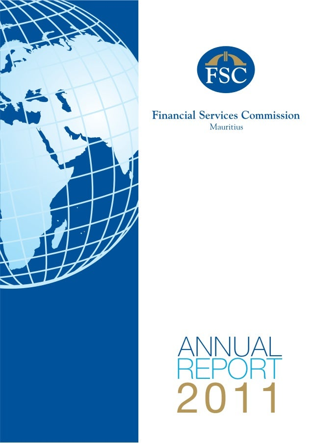 Financial Services Commission Mauritius 2011 Annual Report