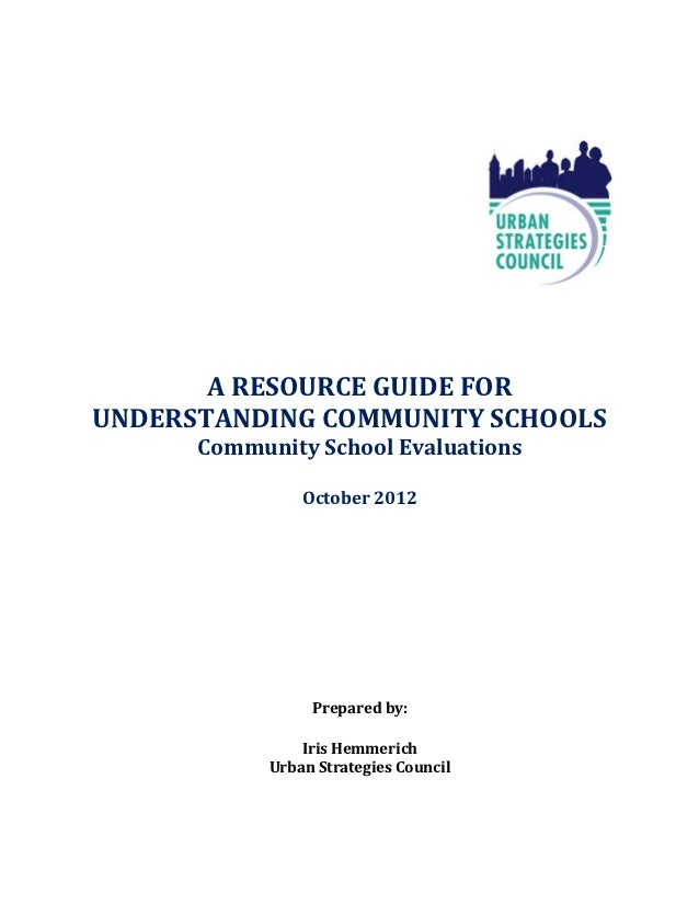 Community School Evaluations