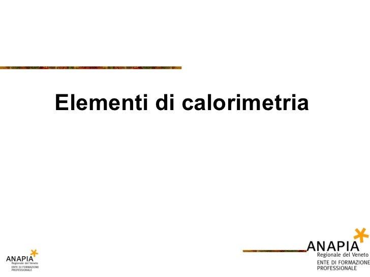 Fse   02 - calorimetria