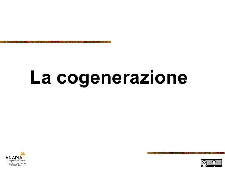 Fse   14b lezione - cogenerazione