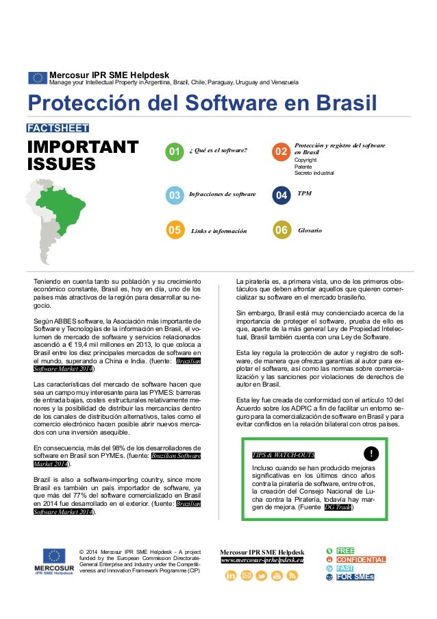 Mercosur IPR SME Helpdesk  Manage your Intellectual Property in Argentina, Brazil, Chile, Paraguay, Uruguay and Venezuela ...