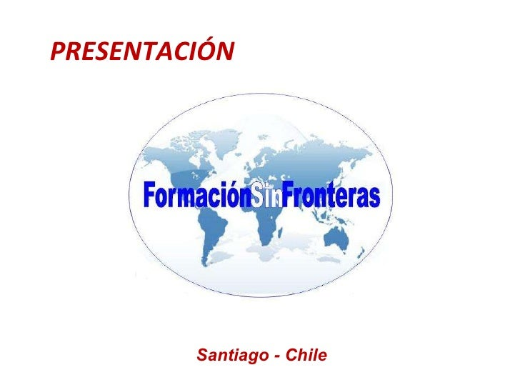 PRESENTACIÓN Santiago - Chile