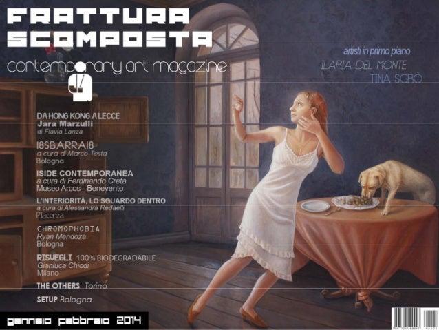 Gennaio / Febbraio 2014 ______________________________________________________________  EDITORE: Sergio Curtacci  COLLABOR...