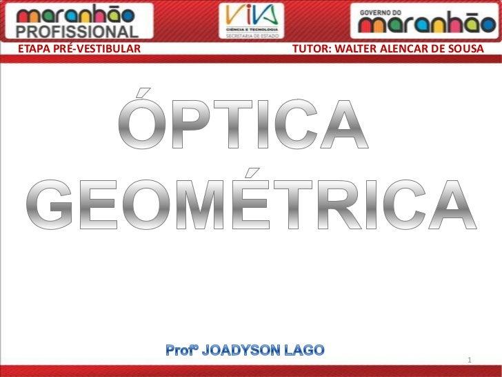 Física   óptica