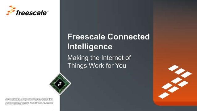 l'internet des objets By Freescale