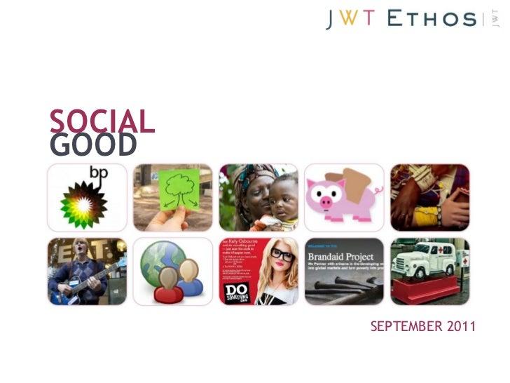 Social Good (September 2011)