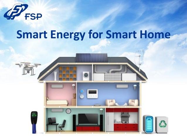 Fsp smart energy for smart home for Energy smart homes