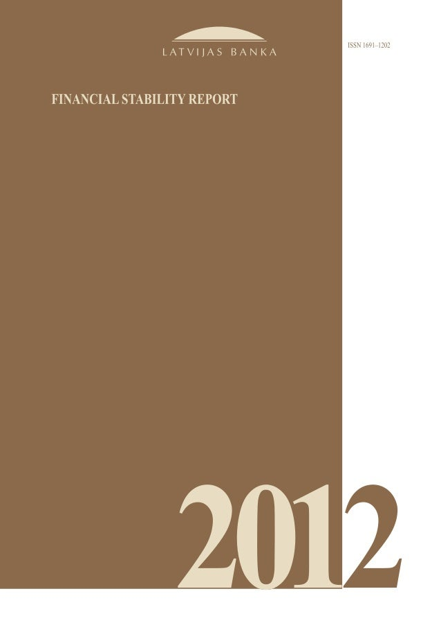 Financial Stability Report 2012