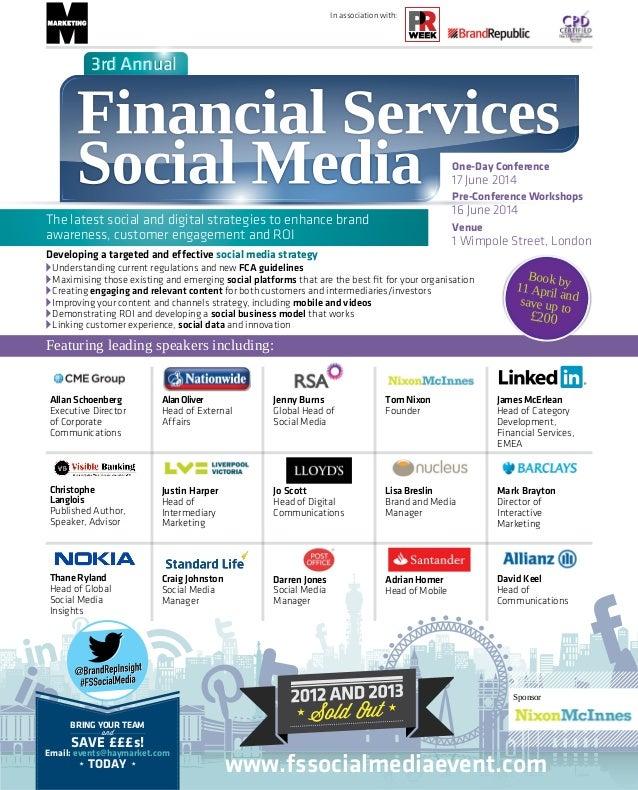 Financial Services Social Media 2014-brochure