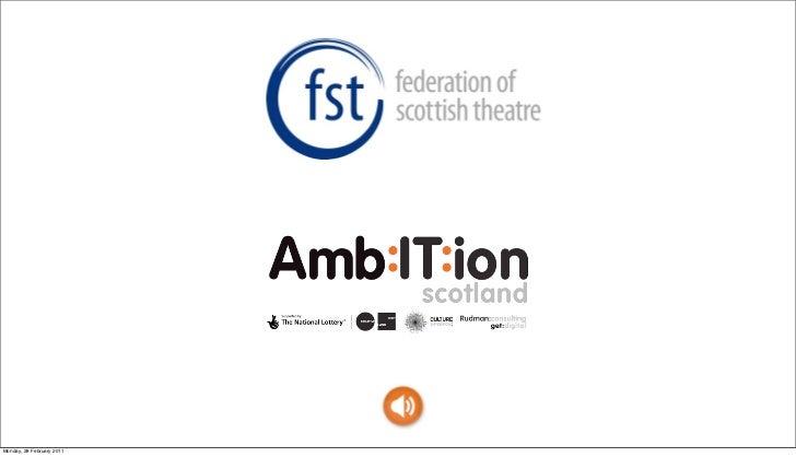 Federation of Scottish Theatres Emporium 2011: Hannah Rudman