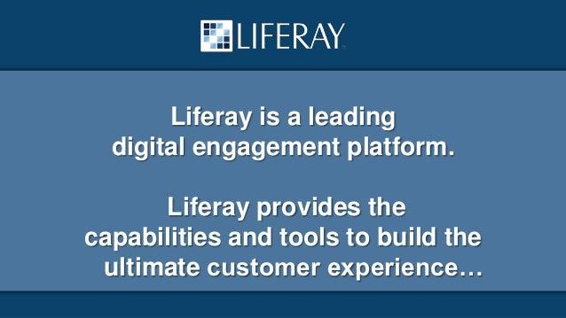 Liferay for FSI - A Platform for Digital Engagement