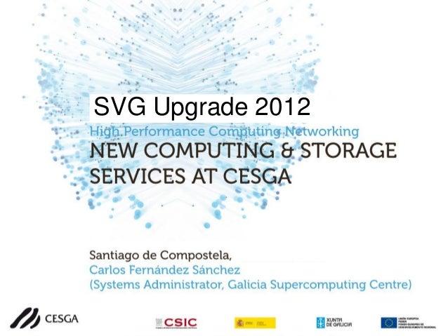 Workshop actualización SVG CESGA 2012