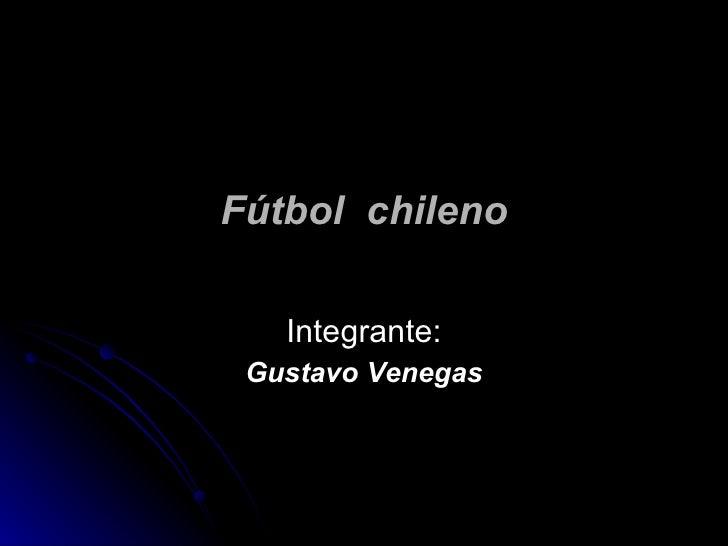 FúTbol  Chileno 1