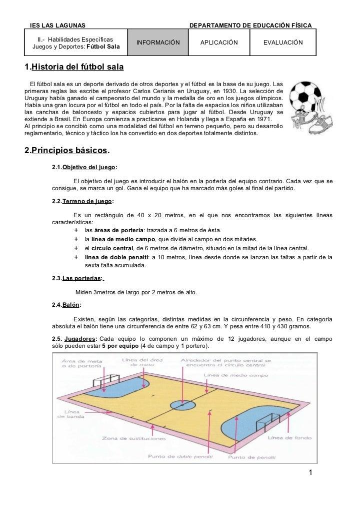 IES LAS LAGUNAS                                             DEPARTAMENTO DE EDUCACIÓN FÍSICA    II.- Habilidades Específic...