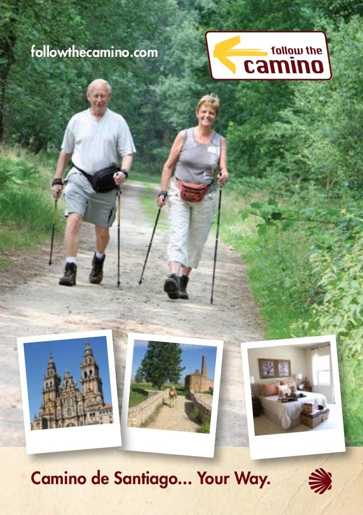 Follow The Camino Brochure