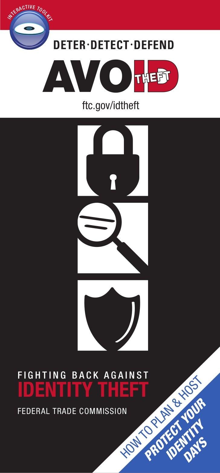 Ftc identity theft kit