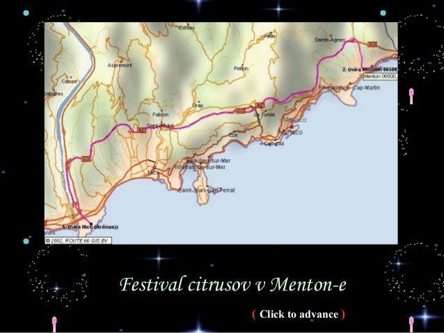 Festival citrusov v Menton-e                ( Click to advance )