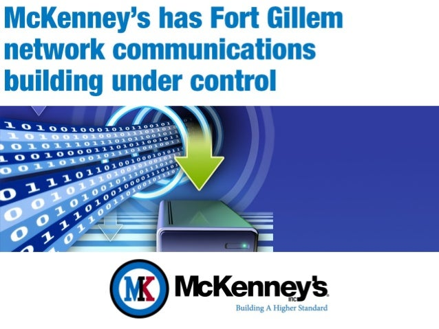 McKenney's, Inc Automation and Control Systems Case Study - Fort Gillem Atlanta, Georgia