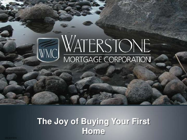 The Joy of Buying Your First Home<br />GN-50-91810<br />