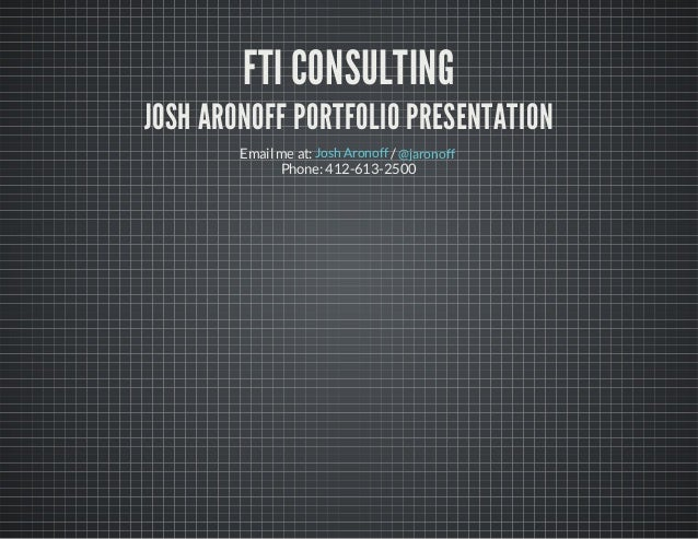 FTI Consulting Presentation