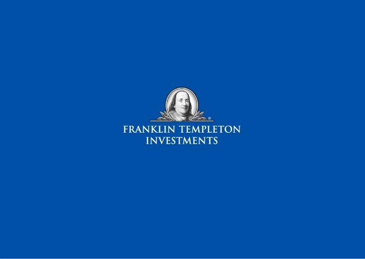 Franklin Templeton Quarterly Report - Equity Report - August 2012
