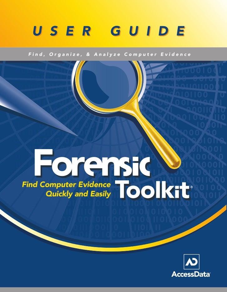 Ftk 1.80 manual