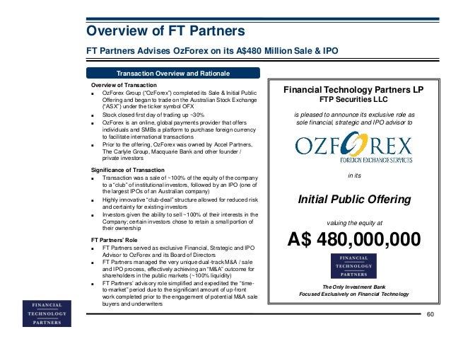 Ozforex pty ltd