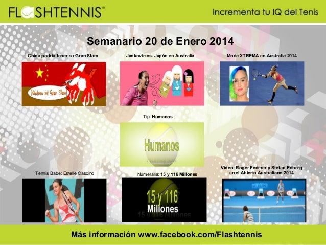 Flashtennis Semanario 20 enero 2014