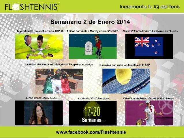 Flashtennis Semanario 2 enero 2014