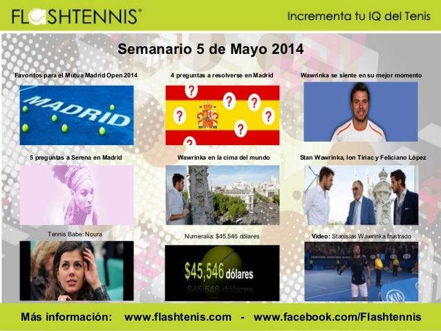 Flashtennis Semanario 5 mayo 2014