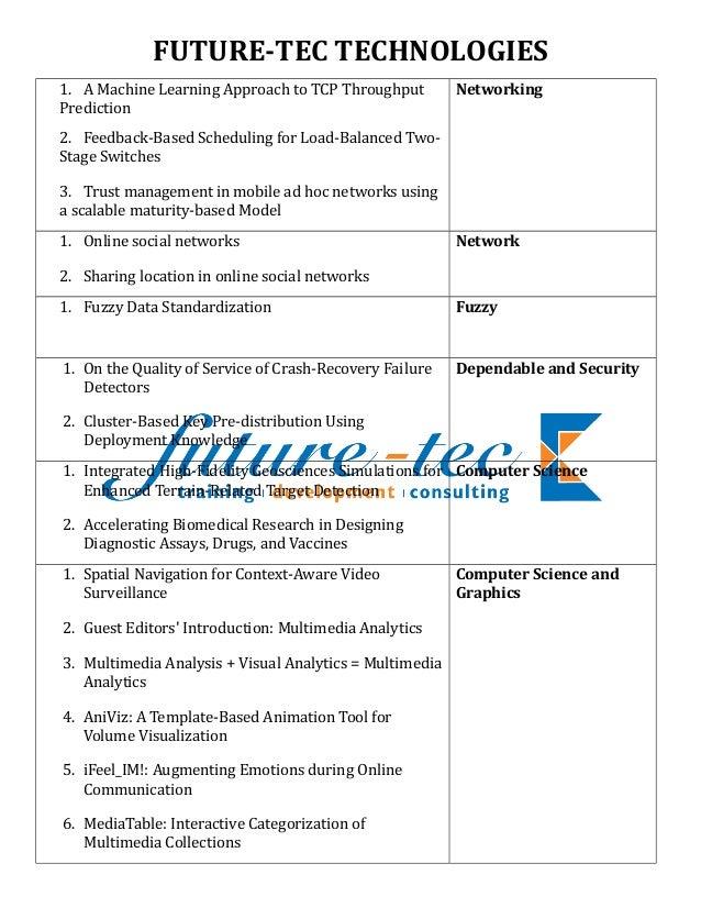 IEEE 2010 JAVA, .NET & EMBEDDED SYSTEM TITLES