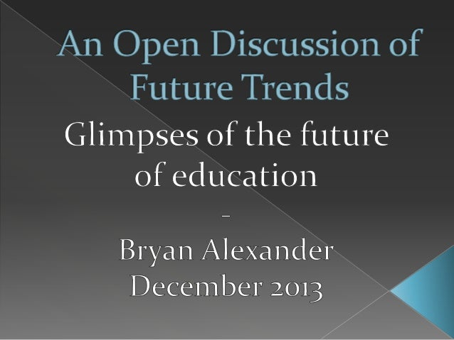 NITLE Shared Academics: An Open Discussion of Future Trends
