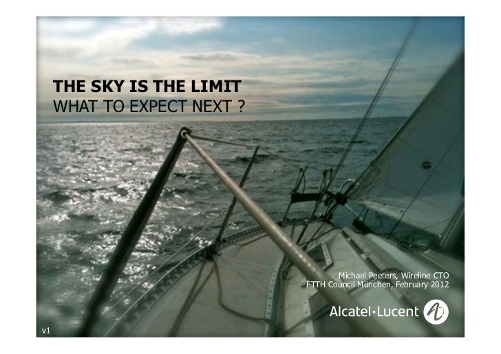 THE SKY IS THE LIMIT     WHAT TO EXPECT NEXT ?                                                                            ...