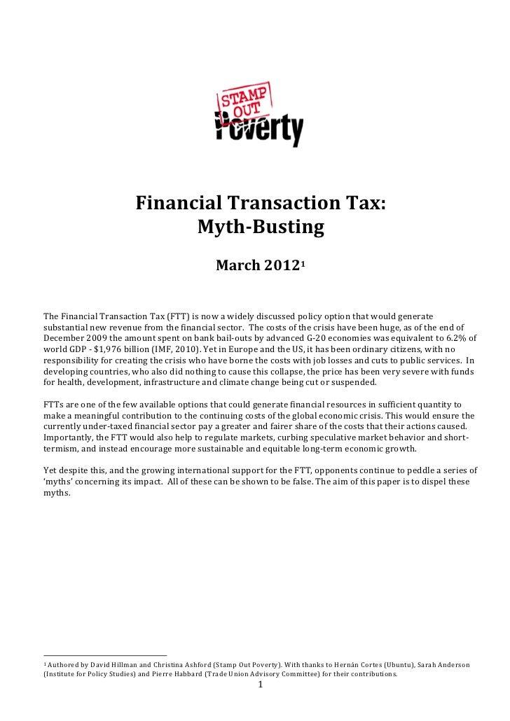 Desbancando los mitos de la TTF