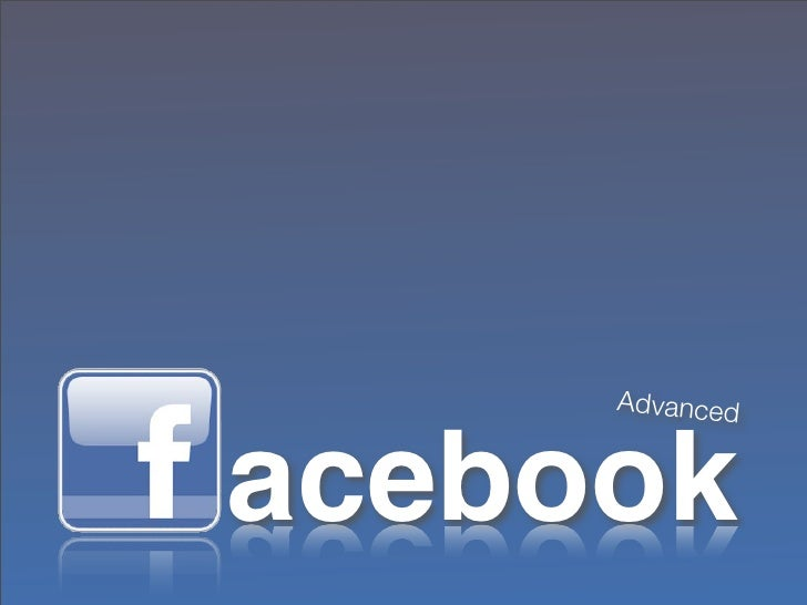 Facebook 201: Take Your Facebook Marketing to the Next Level