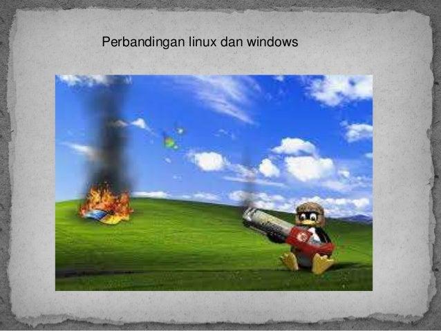 Perbandingan linux dan windows