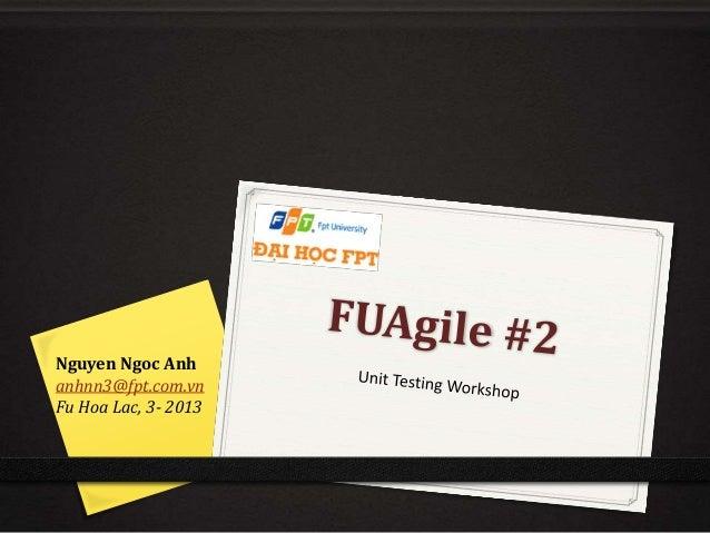 Fu agile#2 unit_testing