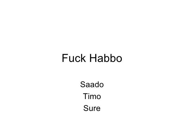 Fuck Habbo