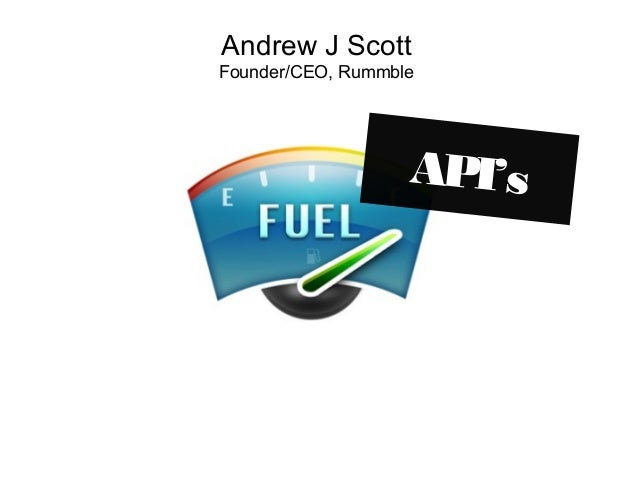 API - Application Programming Interfaces FUEL Conference 2008