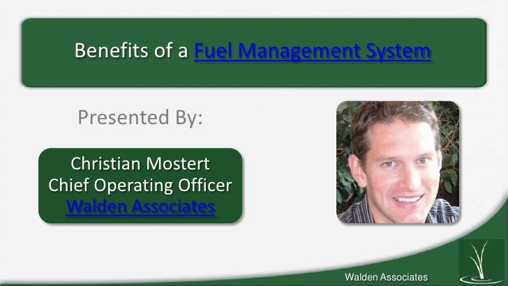 Benefits of a Fuel Management System
