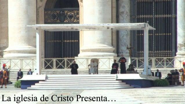 La iglesia de Cristo Presenta…