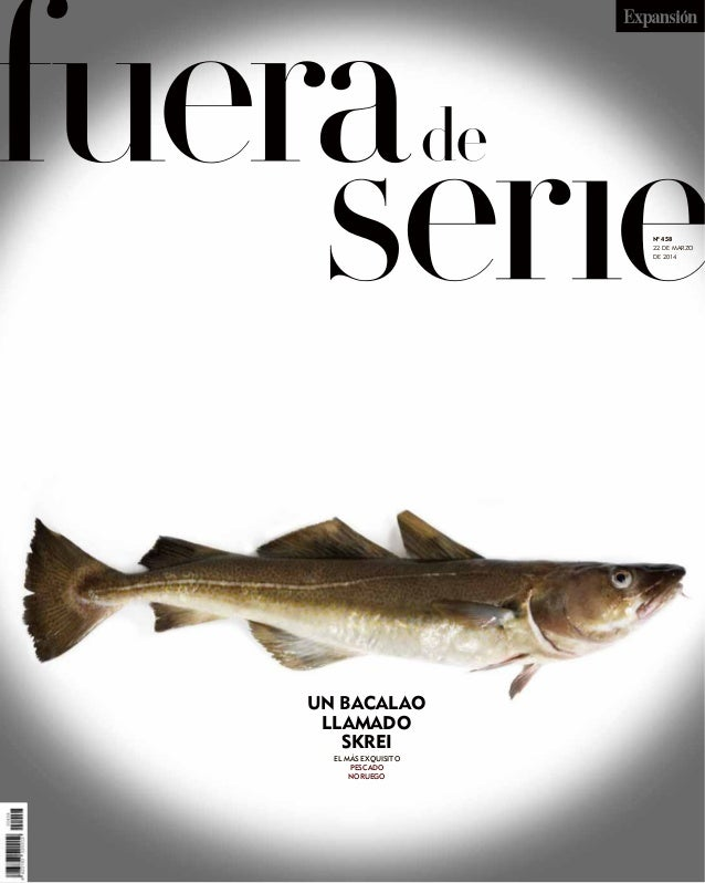 """Skrei, el bacalao """"pata negra"""". Por Juan Carlos Rodríguez"""