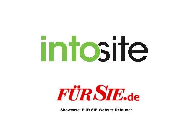 Showcase: FÜR SIE Website Relaunch