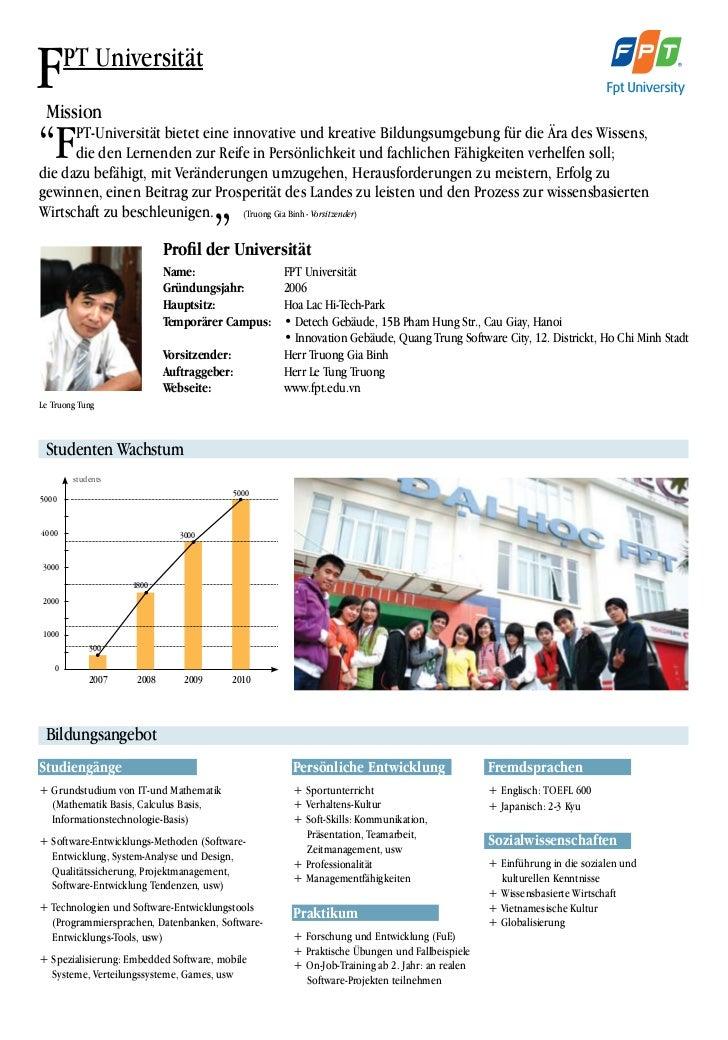 """FMission        PT Universität""""F    PT-Universität bietet eine innovative und kreative Bildungsumgebung für die Ära des Wi..."""