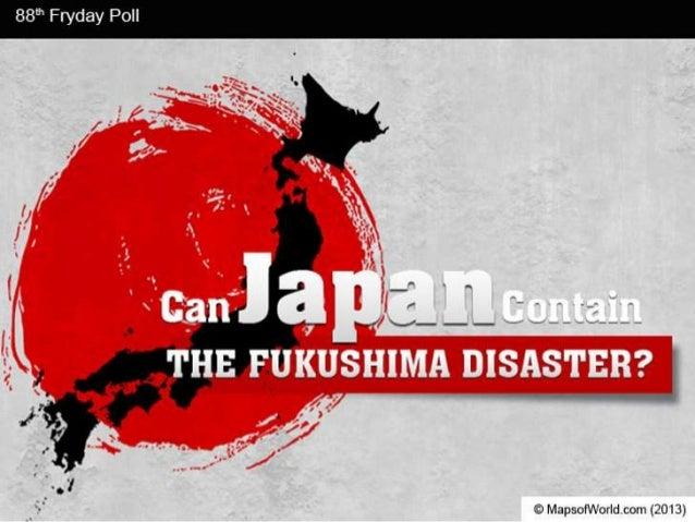 Can Japan Contain The Fukushima Disaster?