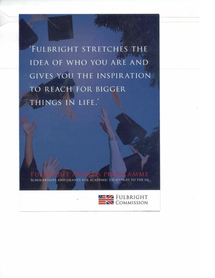 Fulbright 2012