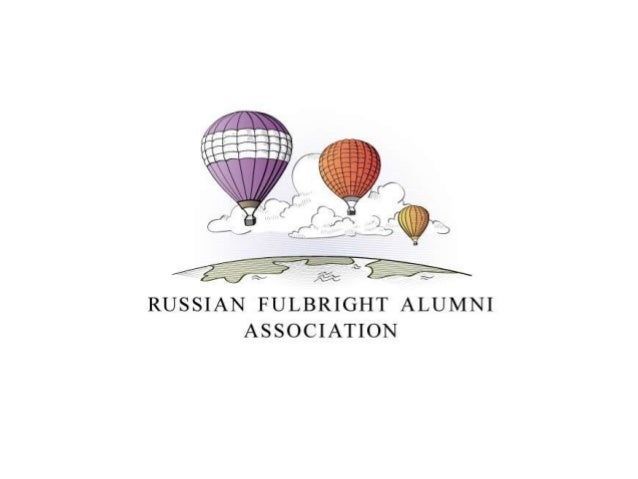 Presenting Russian Fulbright Alumni Association at the Fulbright 40th Anniversary