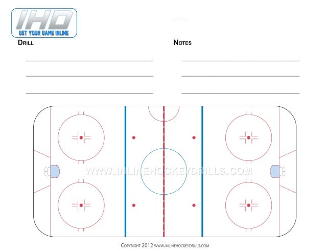 Full Rink Blank Form