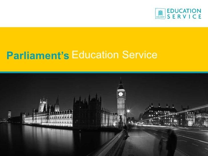 Parliament's Education Service